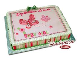 baby shower sheet cakes designs party xyz