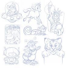 cartooning and illustration by mark engblom at coroflot com
