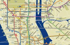mta map subway map of the day subway service at second ave sagas