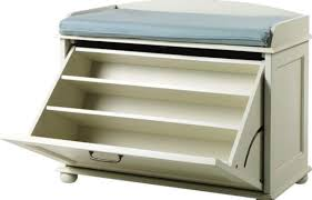 Tjusig Bench With Shoe Storage Bench Shoe Rack Benches With Storage Martin Black Pertaining To