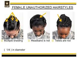 haircuts appropriate for navy women black female soldiers say the army s new hair rules are racist