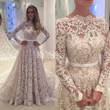 vintage lace wedding dress discount sleeves vintage lace wedding dresses 2017 arabic