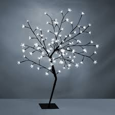 Floor Lamp Tree Branches Modern White Led 4ft Cherry Blossom Willow Tree Twig Floor Lamp