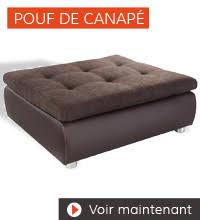 pouf pour canapé comment choisir canapé design guide d achat