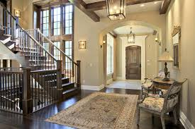 Comfortable Foyer Interior Design With Additional Furniture Home - Foyer interior design ideas