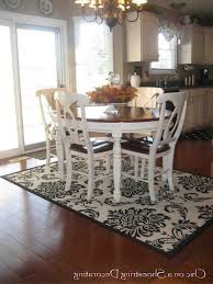 Area Rugs Dining Room Kitchen Fabulous Area Rug Under Dining Room Table Kitchen Rug