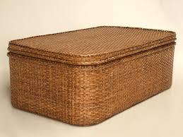 coffee table glamorous wicker trunk coffee table designs