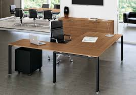 Italian Executive Office Furniture Italian Glass Desk Glide