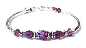 birthstone bracelets for handmade swarovski birthstone bracelets for women