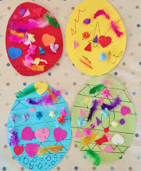easter crafts decorating card easter eggs newyoungmum