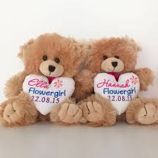 flower girl teddy gift 67 best bridal bling teddy bears images on teddy bears