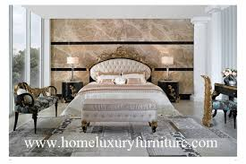 Bed Frames Ta Neo Classical Bed Kingbed Solid Wood Bed Factory Bedroom Furniture
