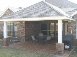 the act of creating covered patios