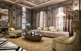 living room french interior design of modern french living room