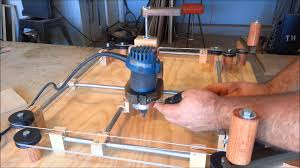 router jig etch a sketch style youtube