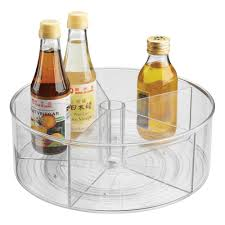Glass Lazy Susan Turntable by 12 Linus Divided Turntable Storables
