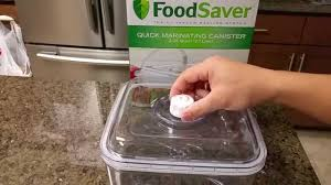 foodsaver quick marinator review youtube