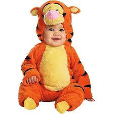 Baby Boy Halloween Costumes Tigger Deluxe Toddler Halloween Costume Walmart