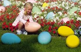 large plastic easter eggs easter yard decorations jolly holidays