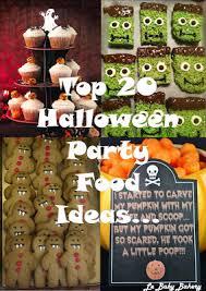 le baby bakery top 20 halloween party food ideas halloween