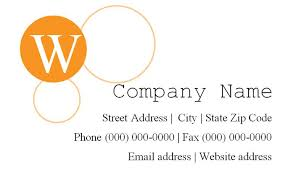 Free Business Card Templates For Word 2010 4 491 Free Business Card Templates You Can Customize