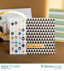 Deco Foil Deco Foil Paper Issues Cards Two Ways Therm O Web