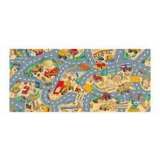 Childrens Play Rug Learning Carpets Giant Road Kids Play Rug