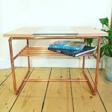 Diy Pipe Desk by Www Copperandwood Co Uk Classic Coffee Table In Plywood Copper
