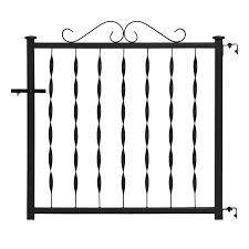 shop deck railing gates at lowes com