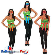 Ninja Turtle Womens Halloween Costumes U0027s Tmnt Teenage Mutant Ninja Turtles Fancy Dress Corset