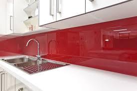 red kitchen backsplash home decoration ideas