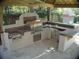 Outside Kitchen Design Ideas Outdoor Kitchen Bbq Designs Donatz Info