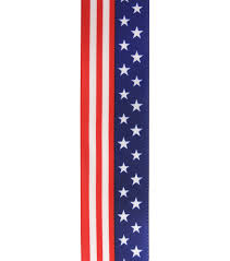 patriotic ribbon americana patriotic ribbon 1 5 x12 patriotic flag joann