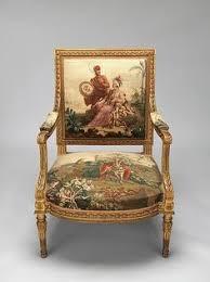 Armchair Pundit Louis Xv Armchair Gilt Walnut And Beauvais Silk Tapestry Circa