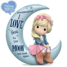 precious moments granddaughter love moon
