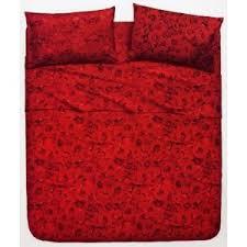 bassetti piumone completo copripiumone la natura bassetti fantasia rosse