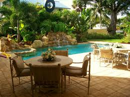 outdoor u0026 garden wonderful backyard tropical swimming pool and