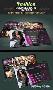 fashion model actress business card template 4805733 free
