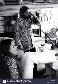 Michelle Phillips Oct 20 2002 Dennis Hopper And Michelle Phillips In Taos Stock