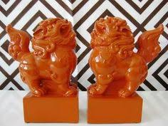 orange foo dogs the world s catalog of ideas