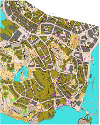 Map Java World Cup 2015 Lysekil M21 June 6th 2015 Orienteering Map From