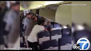 Southwest 59 One Way Flights by Vicious Fight On A Southwest Flight Burbank California Youtube