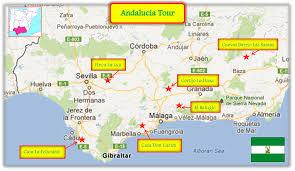 Cordoba World Map by Andalusia Tour Finca La Luz