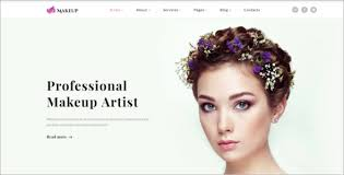 professional makeup artist websites 23 cosmetics website templates free premium themes creative