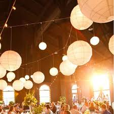 20 inch large paper lantern color cake weddings