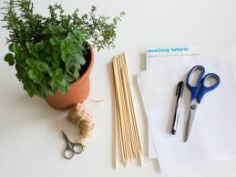 Kitchen Herb Pots by How To Make Diy Herb Pot Centerpieces And Party Favors How Tos Diy