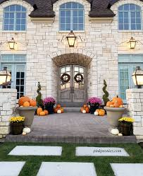 Decorations For Front Of House Best 25 Fall Entryway Ideas On Pinterest Fall Entryway Decor