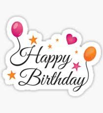 birthday stickers birthday wishes stickers redbubble