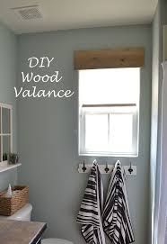 bathroom valance ideas diy simple wooden valance hometalk