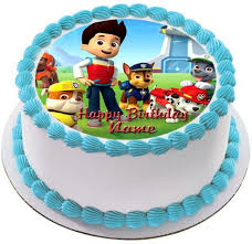 edible cake topper paw patrol 2 edible birthday cake or cupcake topper edible